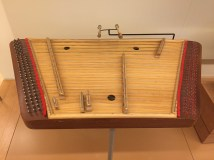They play the tsimbaly in Minsk. It's a struck zither but it looks like a dulcimer to me.