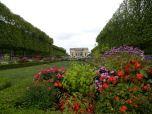 Gardens surround the Petit Trianon.