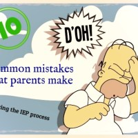 parent IEP mistakes