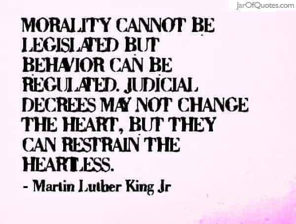 mlk morality quote