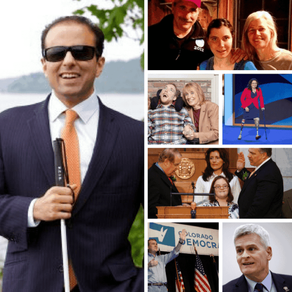 politicians with strong ties to disability community