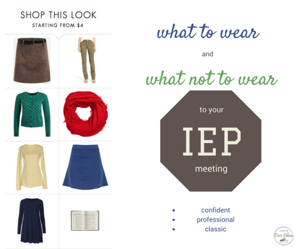 what to wear to IEP meeting