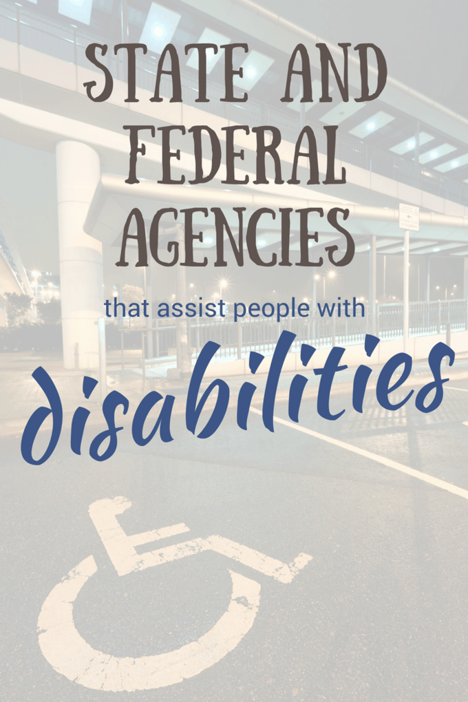 Massive list of 11 federal and 50 state agencies that you can ask for assistance with your disability issue. If you are living with a disability and need help, each state has a Disabilities Protection and Advocacy group to help all individuals, all disabilities, all ages.