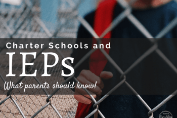 Charter Schools and IEPs: Do they have to provide special education?