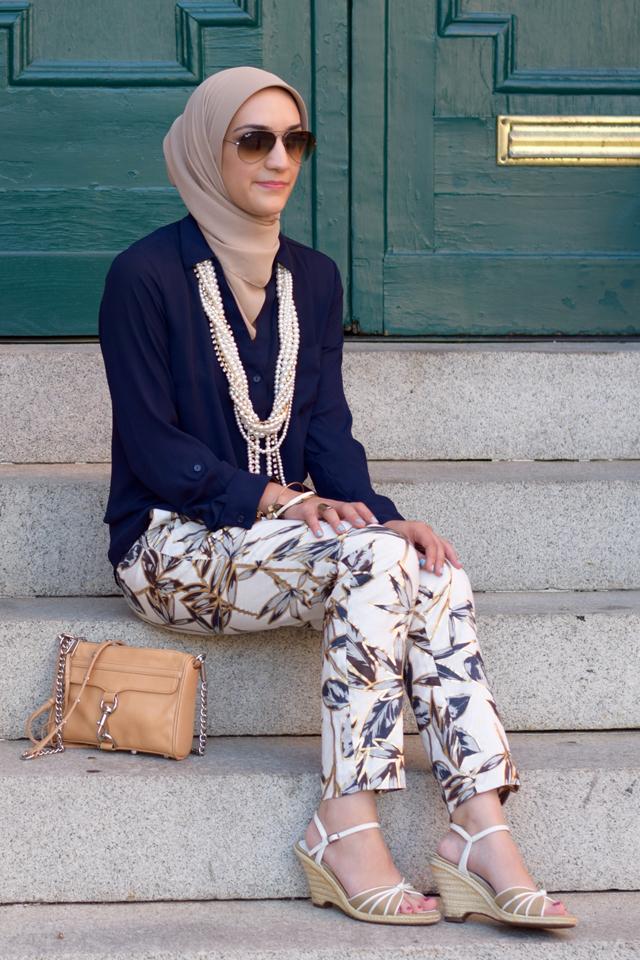 A Day In The Lalz; Fashion; Modesty; Fashion Blog; Hijab; J. Crew; Garden Pant