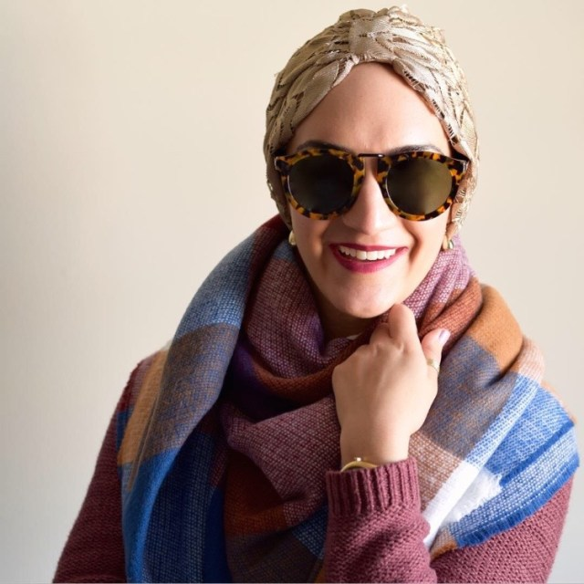 A Day In The Lalz; Fashion Blog; Fall, Fashion Blog, Karen Walker, Blanket Scarf, Turban