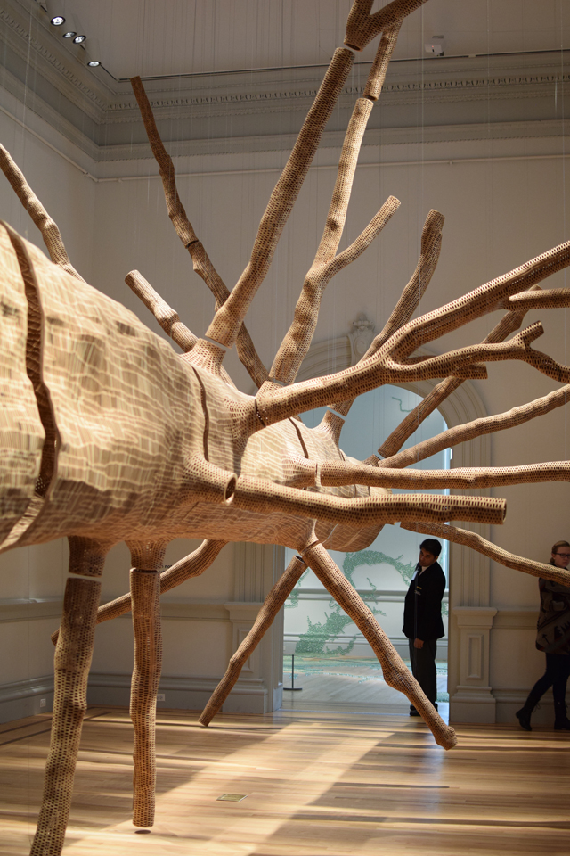 A Day In The Lalz; Renwick Galler; WONDER exhibition; Washington DC Museum; Smithsonian American Art Museum; Artist John Grade; Artist Patrick Doughert; Artist Jennifer Angus; Artist Tara Donovan; Artist Maya Lin; Things to Do in DC; Travel Blog; Museums in DC