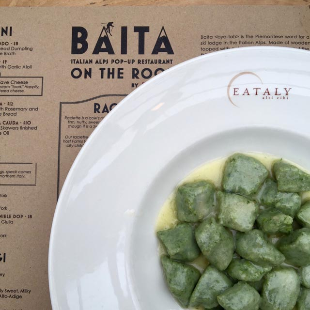 A Day In The Lalz; New York City; Foodie Spots NYC; Travel Blog; NYC Best Food; Baita Eataly