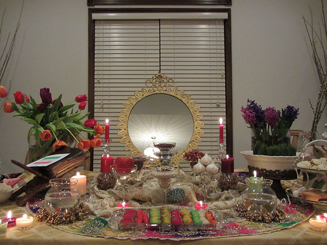 Persian New Year, Norooz, Nowruz, Iranian New Year, Haft Seen, Sofreh Haft Seen, 7seen, First Day of Spring