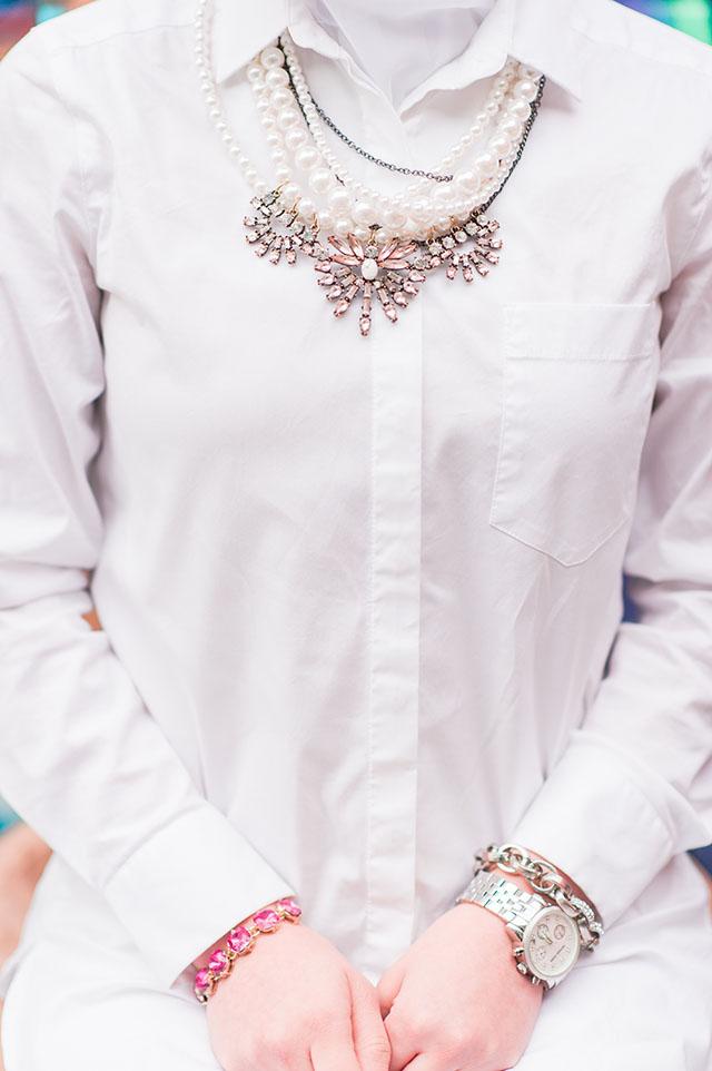 Baublebar Pearl Bennet Bib Necklace