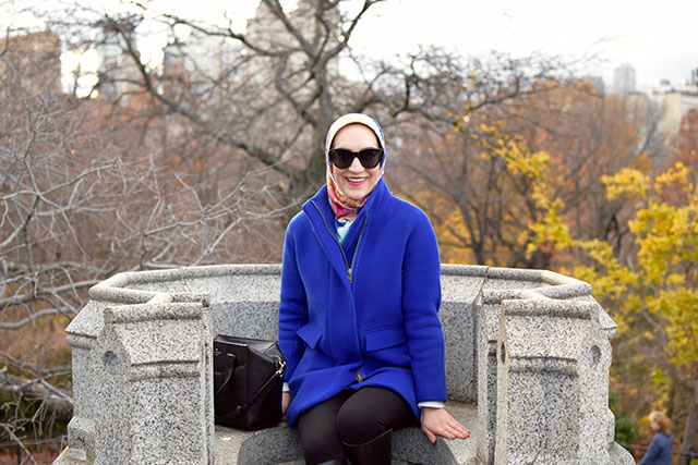 Belvedere Castle in Central Park - NYC - December Weekend in NYC - Travel Blog - Fashion Blogger