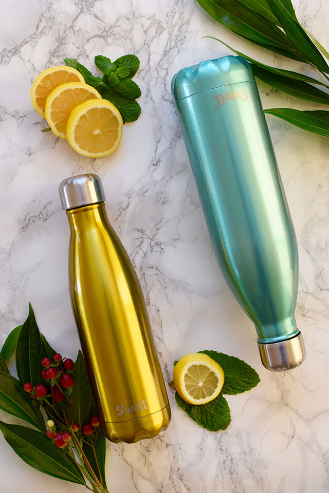 S'well-Stainless Steel Water Bottle-double-walled stainless-steel water bottle- Fashionable water bottles-lifestyle blog