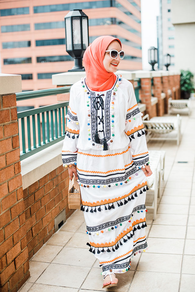 Dodo Bar Or-Yehoray Long Dress-Summer Dress-Pool Style-Modest Fashion-Cult Gaia