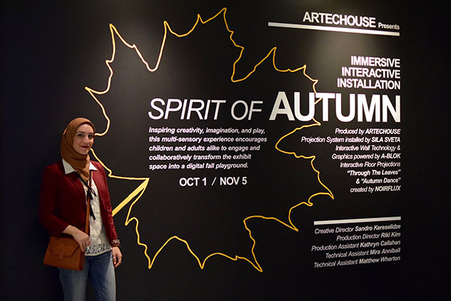 ARTECHOUSE-Spirit of Autumn-Washington DC-Travel Blog
