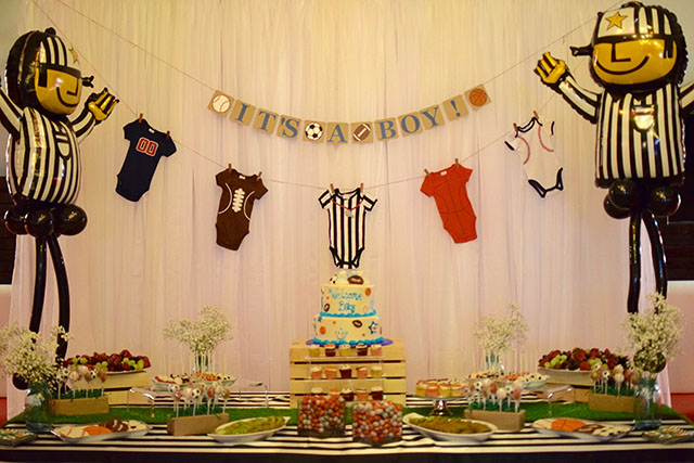A Day In The Lalzsports Themed Baby Shower