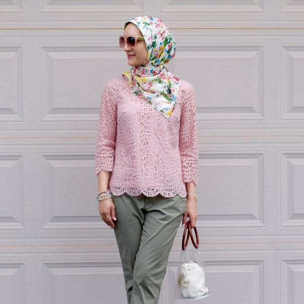 Blush and Olive