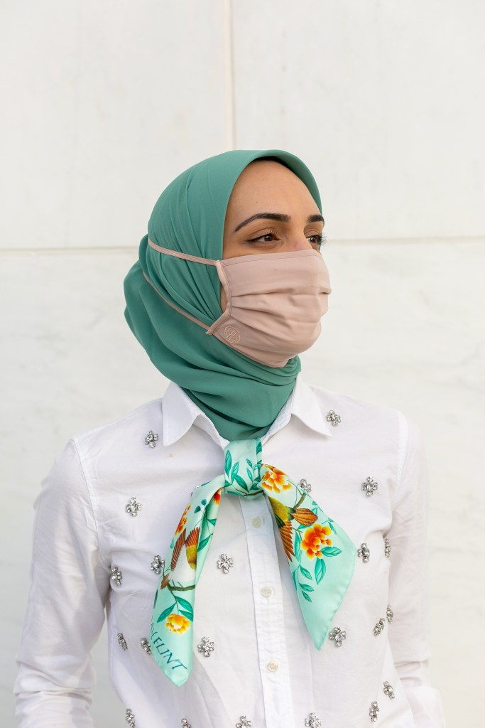 Hijab Friendly Face Mask-Haute Hijab-Lalz