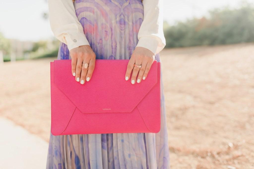 SENREVE-Handbag Revival Event-Maestra-Luxury Handbag-Envelope Sleeve-Clutch