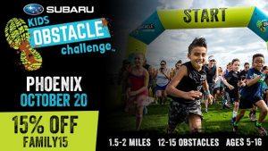 Phoenix Subaru Kids Obstacle Challenge