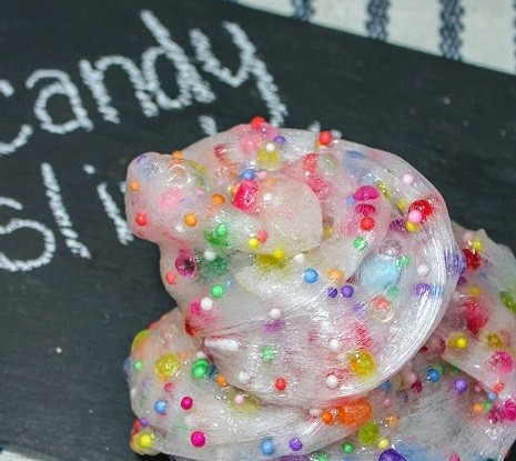 Homemade Candy Slime