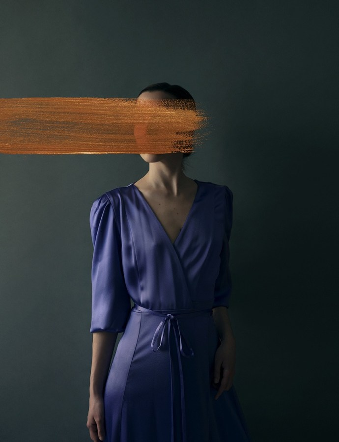 The photographer who uses paint as her medium