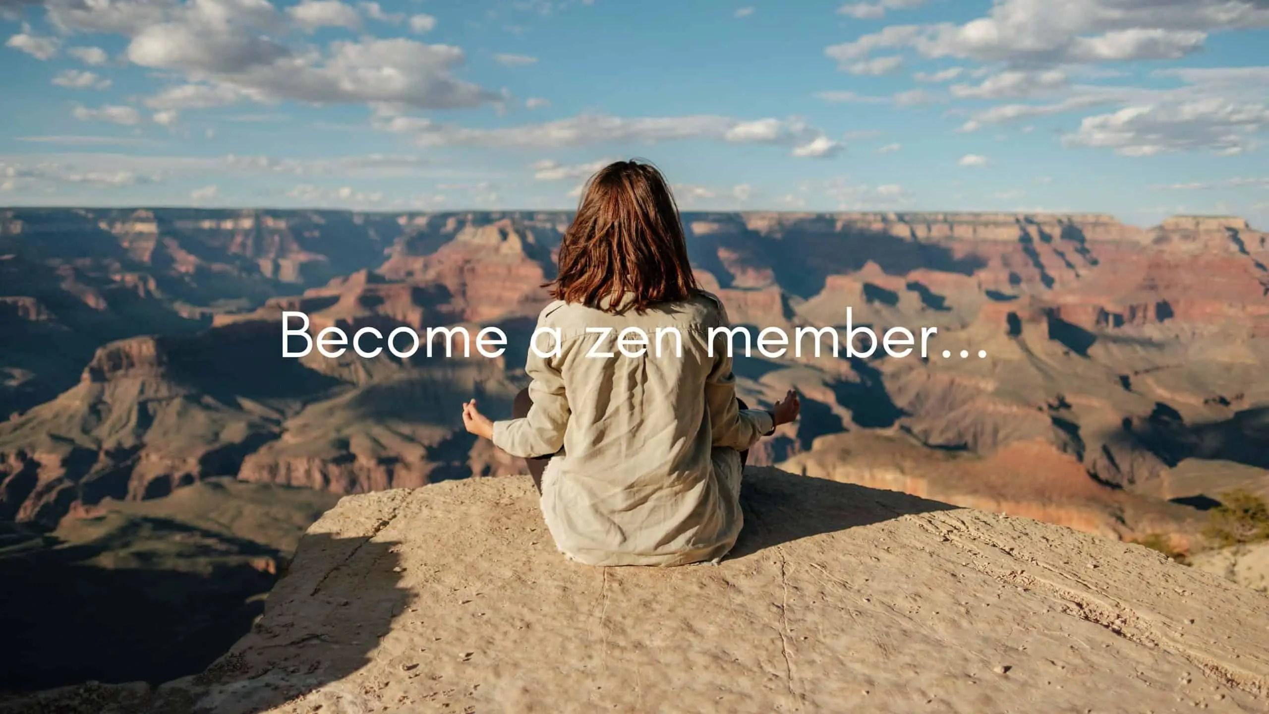 zen member