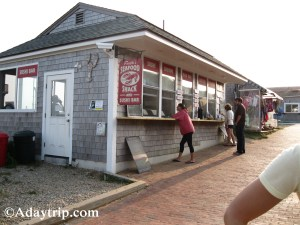 Faith's Seafood Shack in Aquinnah (Gay Head)
