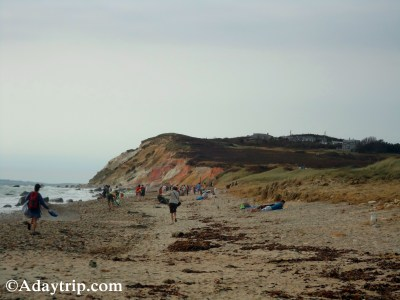 Moshup Beach in Aquinnah on Martha's Vineyard