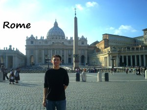 While backpacking through Italy, I made a visit to the Vatican in Rome