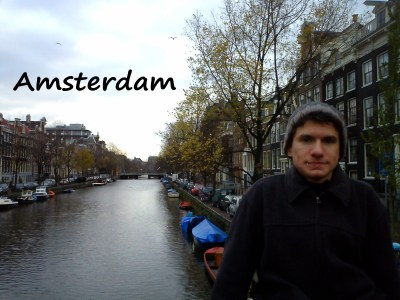 Exploring the canals of Amsterdam, The Netherlands during a weekend away