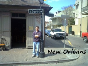 Took a road trip to Bourbon Street in New Orleans, LA