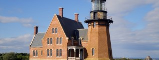 Block Island Southeast Lighthouse on Block Island, Rhode Island is a must-see