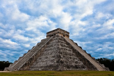 The Chichen Itza in Mexico is a must see for American Tourists by Pavel on Wikimedia Commons