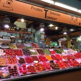 ตลาด Santa Catering Market บาร์เซโลน่า สเปน
