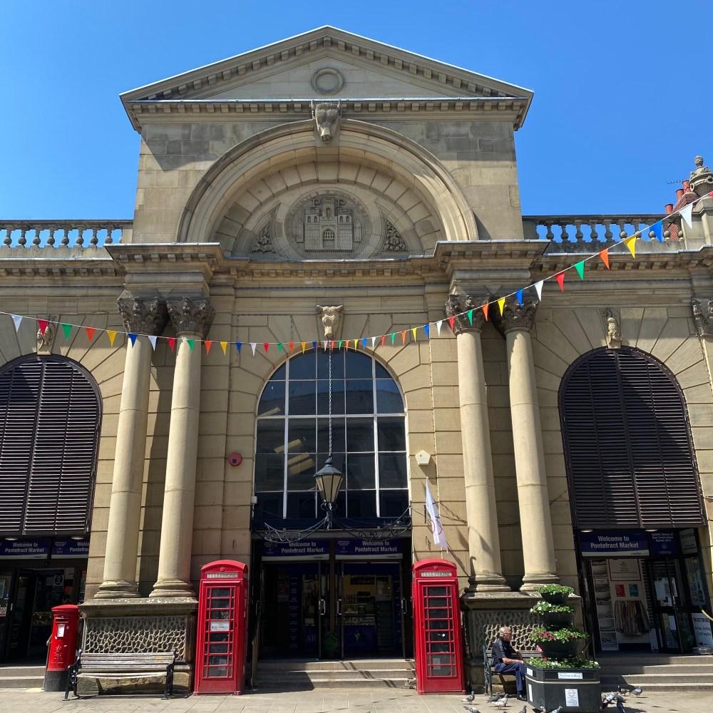 Exterior Pontefract Market Hall
