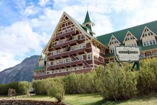 Prince of Wales Hotel in Waterton Lakes National Park.