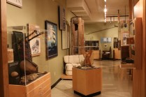 The exhibits inside the Sam Waller Museum in the Pas, Manitoba.