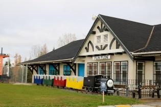 Welcome centre in Flin Flon, MB