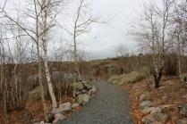 Flinty's Trail along Ross Lake in Flin Flon, MB