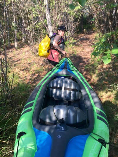 Not-so-ideal portage strategies...