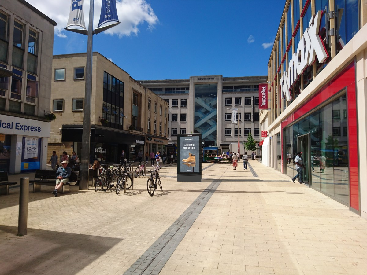 Act now! 13 new digital ad screens planned for central Bristol