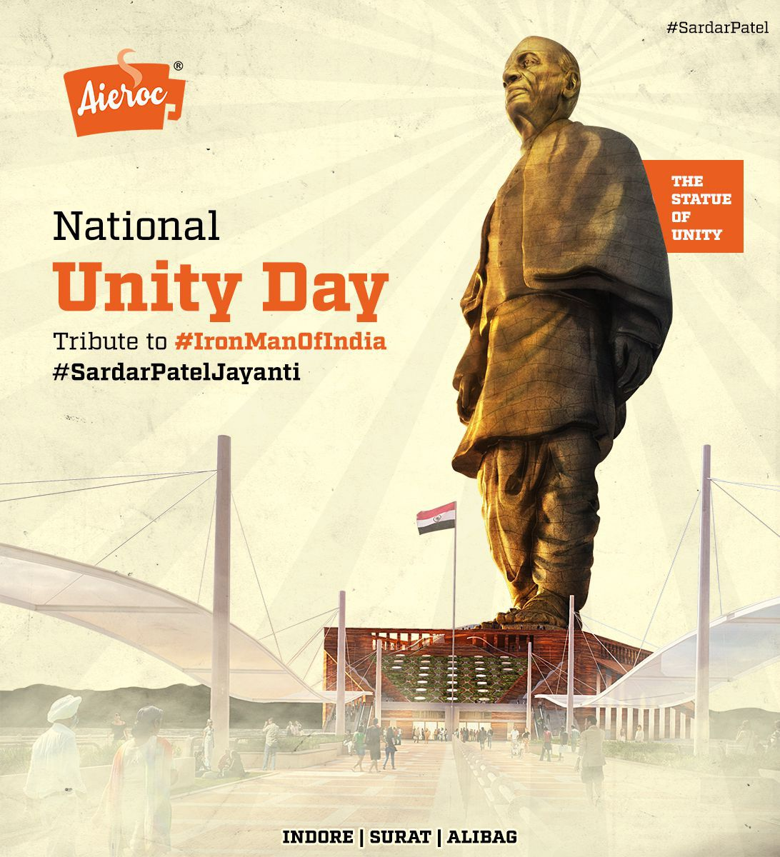 Sardar Patel - The Statue Of Unity