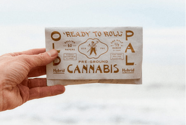 Old Pal Cannabis packaging