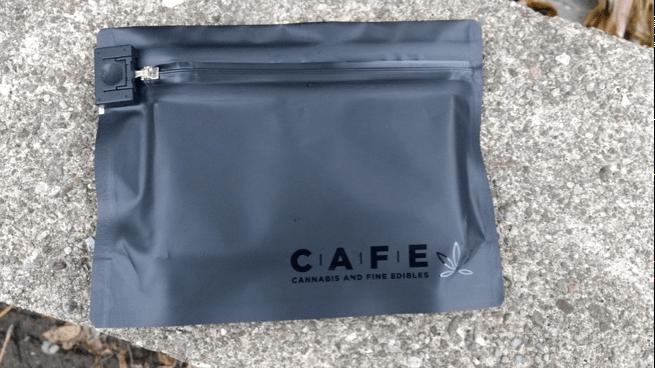 Informal cannabis packaging