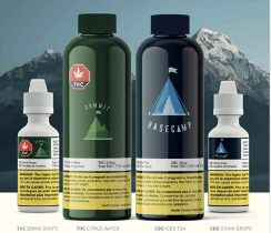 Basecamp and Summit Cannabis Beverages