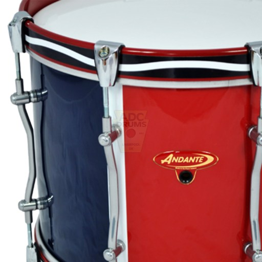 Andante-Advance-Military-Tenor-Drum-badge