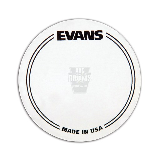 Evans-plastic-single-Kick-Pad