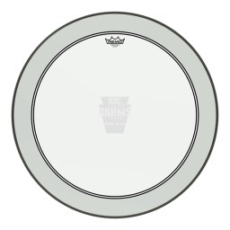 "Remo 26"" Clear Powerstroke 3 Bass Drum Head"