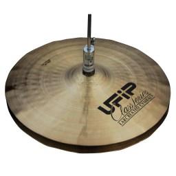 """UFIP Class 14"""" Wave Hi-Hat Cymbals 1"""