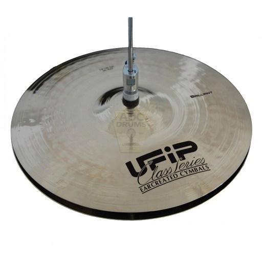 """UFIP Class Brilliant 13"""" Hi-Hat Cymbals 1"""